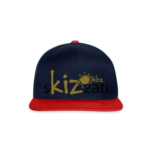 Beanie in jersey con logo sKizzati Kizomba - Verde - Snapback Cap