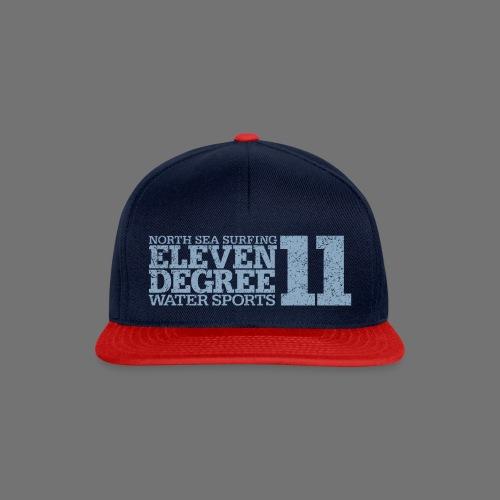 eleven degree light blue (oldstyle) - Snapback Cap