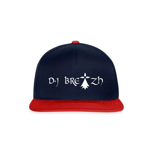DJ BREIZH - Casquette snapback