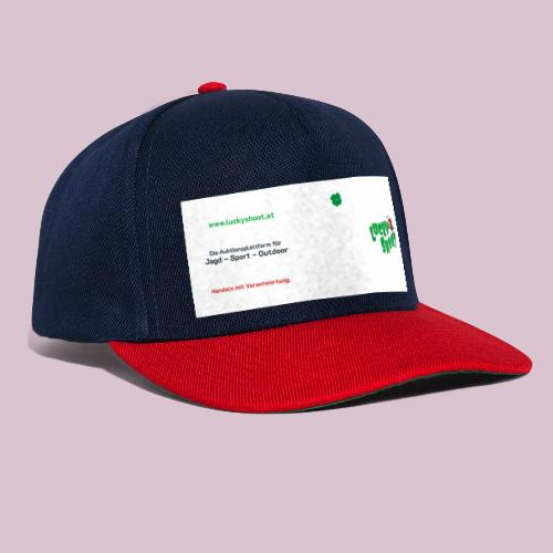 2020 06 26 Tasse Luckyshoot 80x215 print - Snapback Cap