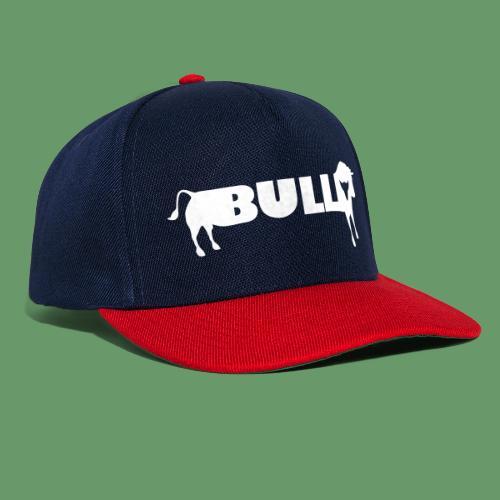 bull design - Snapback Cap