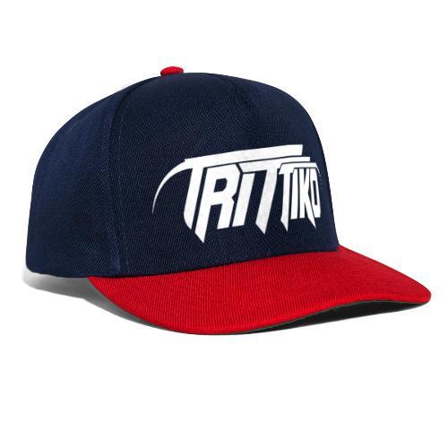 Trittiko Logo Weiss - Snapback Cap