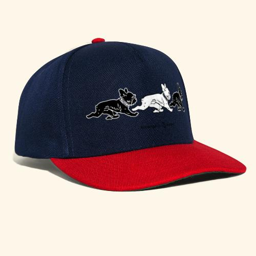 3frenchiesBW - Casquette snapback