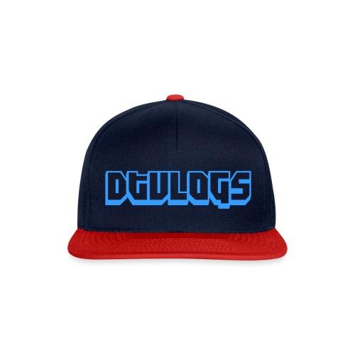 dtvlogs logo mannen baseball tshirt - Snapback cap