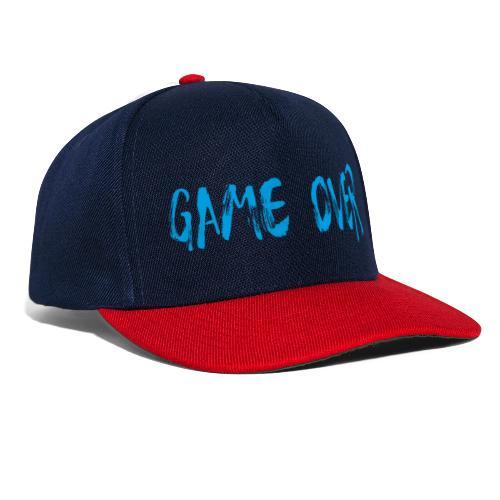 Game Over Nerd Gamer Shirt Geschenk - Snapback Cap
