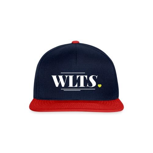 wlts_logo_weiss - Snapback Cap