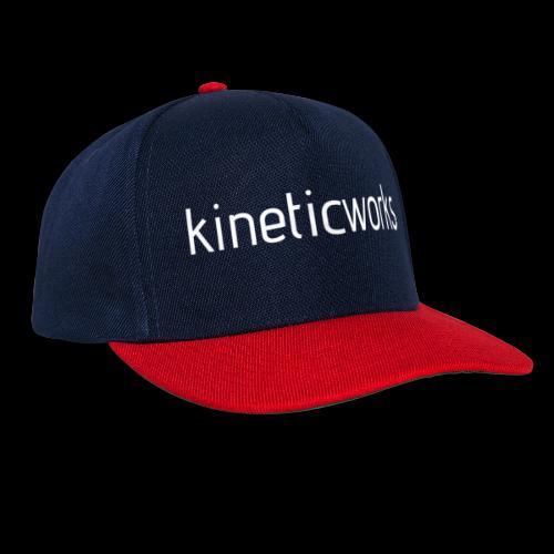 kineticworks white - Snapback Cap
