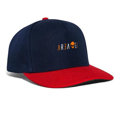area51 biiancoaranciotraspa - Snapback Cap