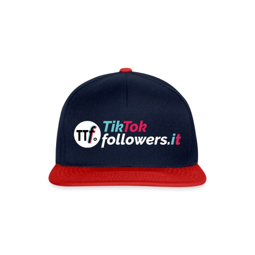 ttfollowers logo - Snapback Cap