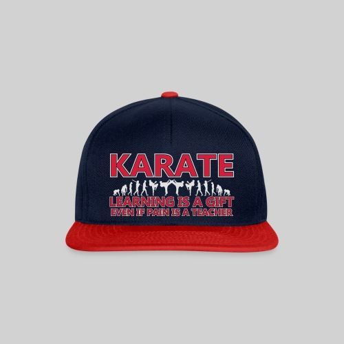 Karate double evolution (6) - Snapback Cap