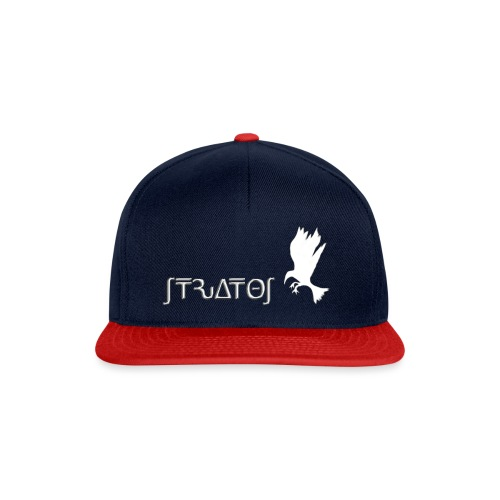 stratos crow white - Snapback Cap