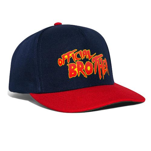 OFFICIAL BROTHER - Snapback Cap