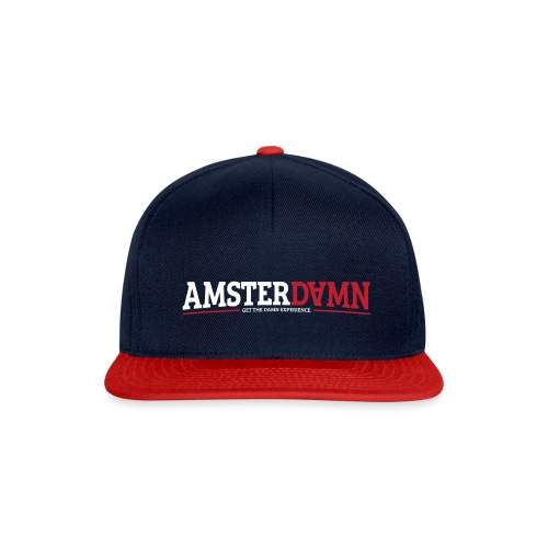 AMSTERDAMN 2 01 png - Snapback cap