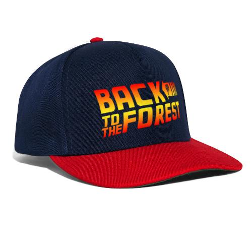 Back To The Forest - Snapback Cap