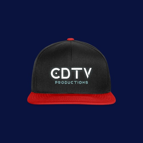 Full CDTVProductions Logo - Snapback Cap