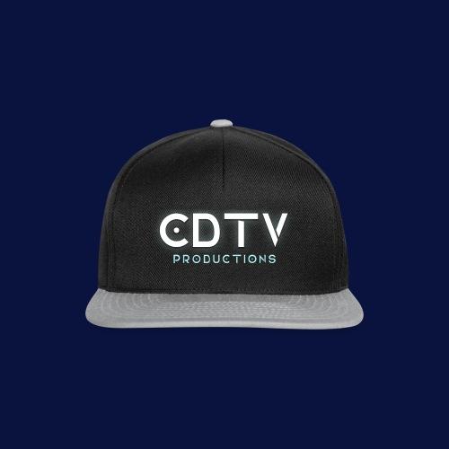 Full CDTVProductions Logo - Snapback Cap
