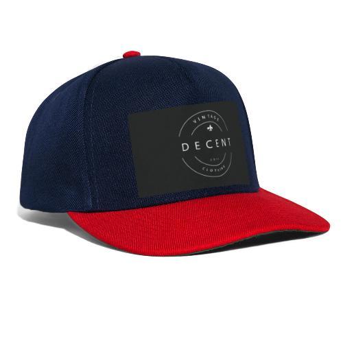 Decent Clothing - Snapback Cap