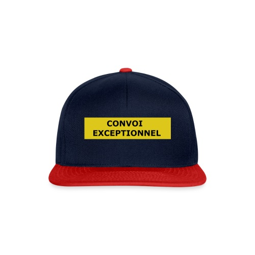 CONVOI EXCEPTIONNEL - Snapback Cap