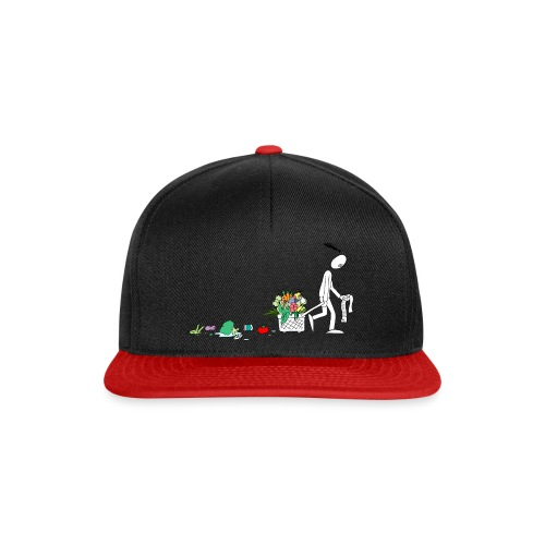 frukt og grønt handleveske - Snapback-caps
