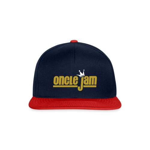 Oncle Jam horizontal or - Casquette snapback