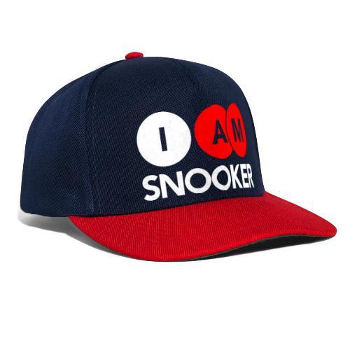I AM SNOOKER - Snapback Cap