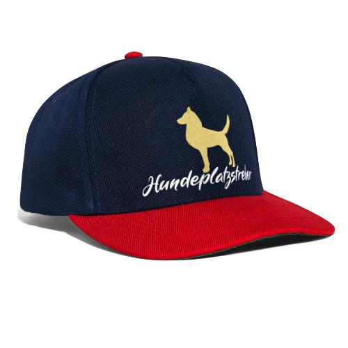 Hundeplatz-Streber / Hundeschule Design Geschenk - Snapback Cap