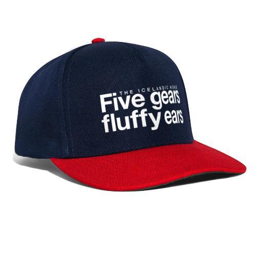 Five gears fluffy ears - Snapback-caps