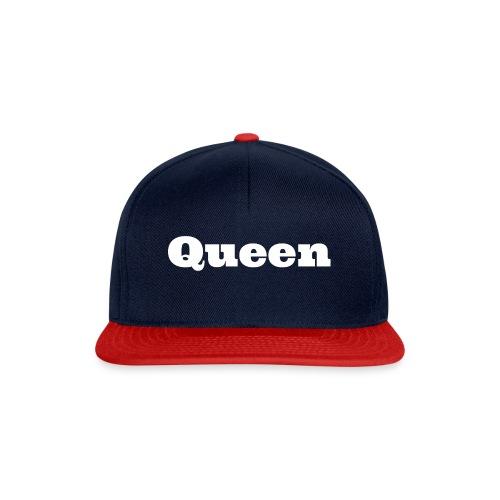 Snapback queen zwart/blauw - Snapback cap