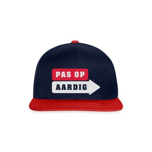 01 diap on black - Snapback cap