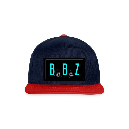 BLUE LOGO jpg - Snapback Cap
