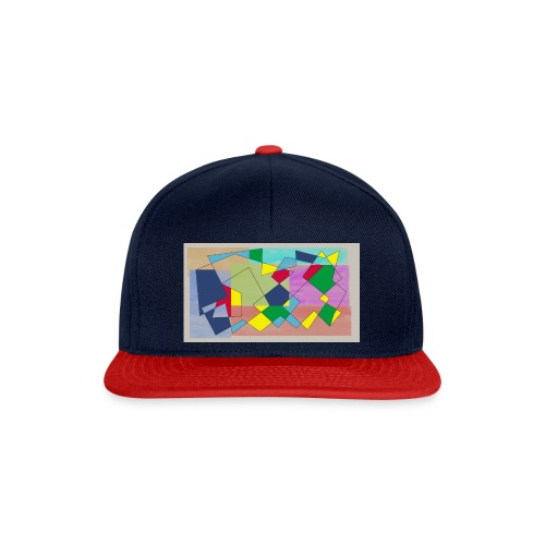 Abstract #1 - Snapback Cap
