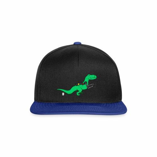 cyborgsaurusprint - Snapback cap