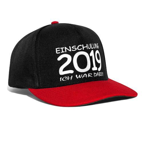 Einschulung 2019 - Snapback Cap