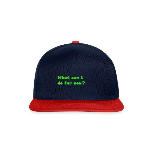 Hilfe - Snapback Cap