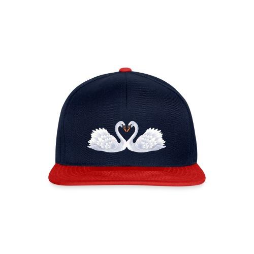 Swan hearts - Snapbackkeps