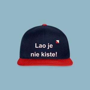 Lao je nie kiste def w - Snapback cap