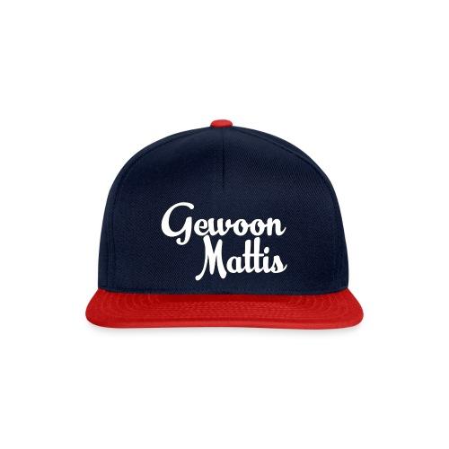 GewoonMattis Shirt Vrouwen - Snapback cap
