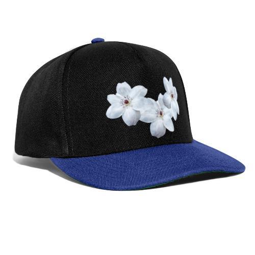 Jalokärhöt, valkoinen - Snapback Cap