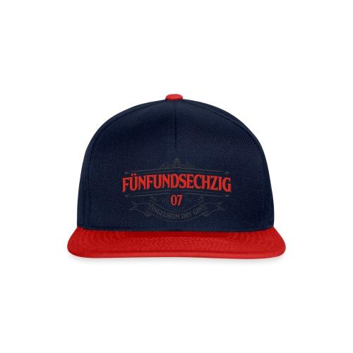 Fünfundsechzig07 Logo in rot - Snapback Cap
