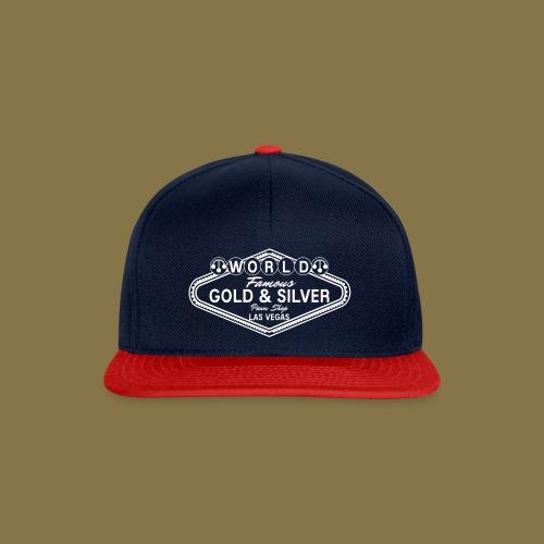 World Famous Gold & Silver Pawn Shop Logo - Snapback Cap