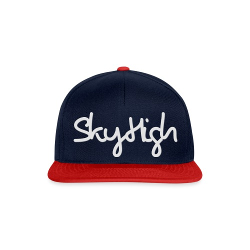 SkyHigh - Women's Hoodie - Gray Lettering - Snapback Cap