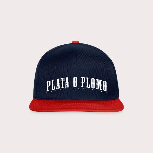 PLATAOPLOMO2 png - Snapback Cap