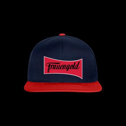 Frauengold 3col - Snapback Cap