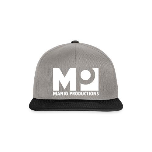 ManigProductions White Transparent png - Snapback Cap