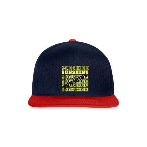 Sunshine - Snapback Cap