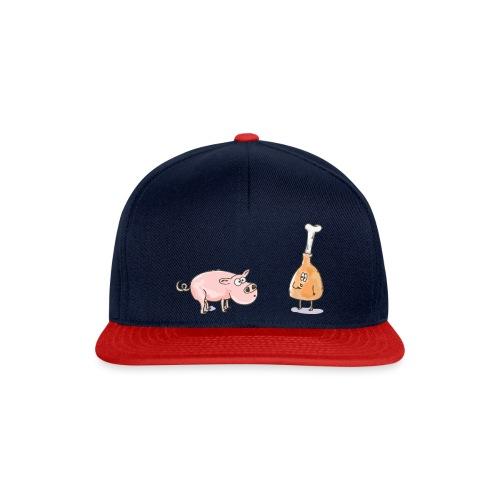 Le cochon et le jambon - Casquette snapback