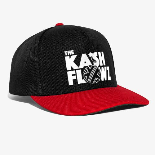 The Kash Flowz Official Bomb White - Casquette snapback
