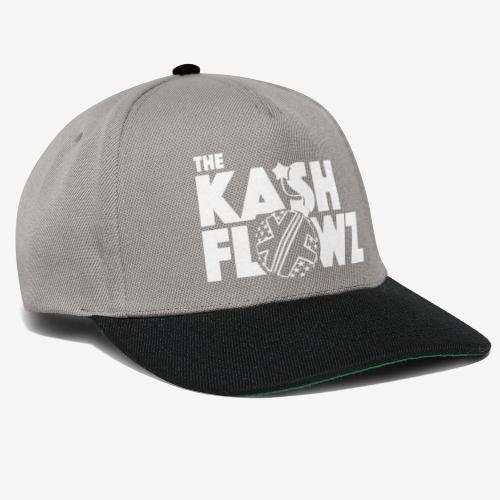 The Kash Flowz Official Bomb White - Casquette snapback