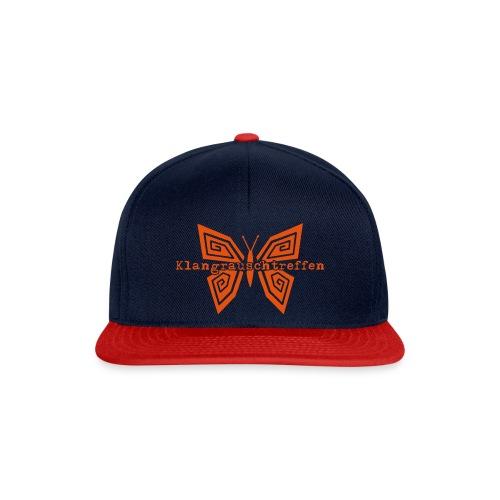 KlangRauschTreffen Schmetterling mit Schrift - Snapback Cap