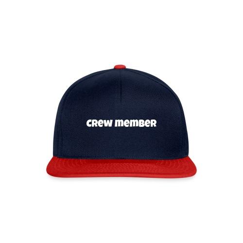 crew member snapback - Snapback cap